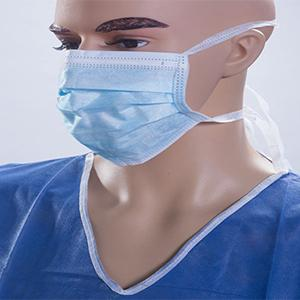 Important notice regarding surgical mask and coveralls