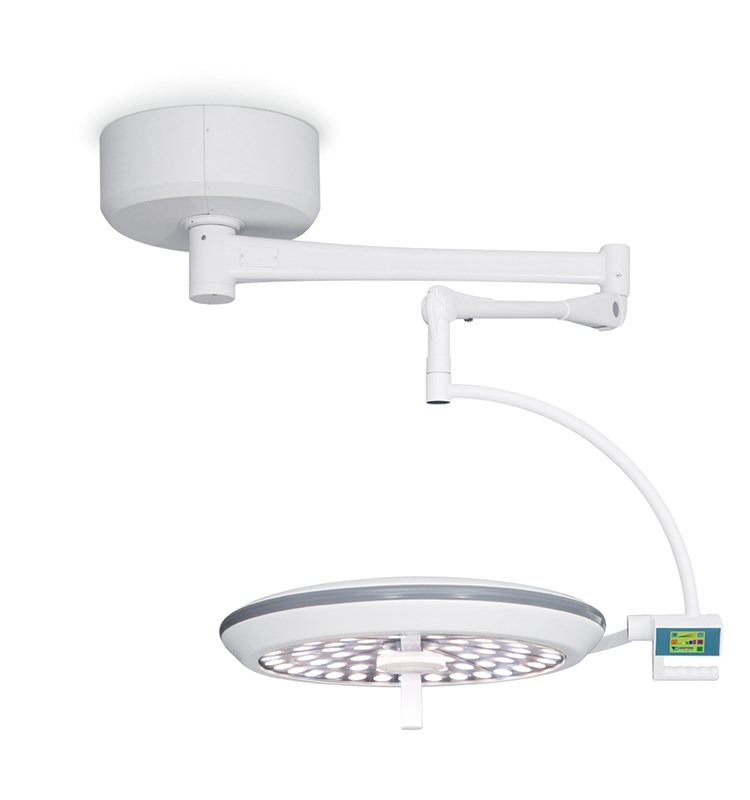 Ceiling LED Surgical Light with 700mm Diameter Light Head