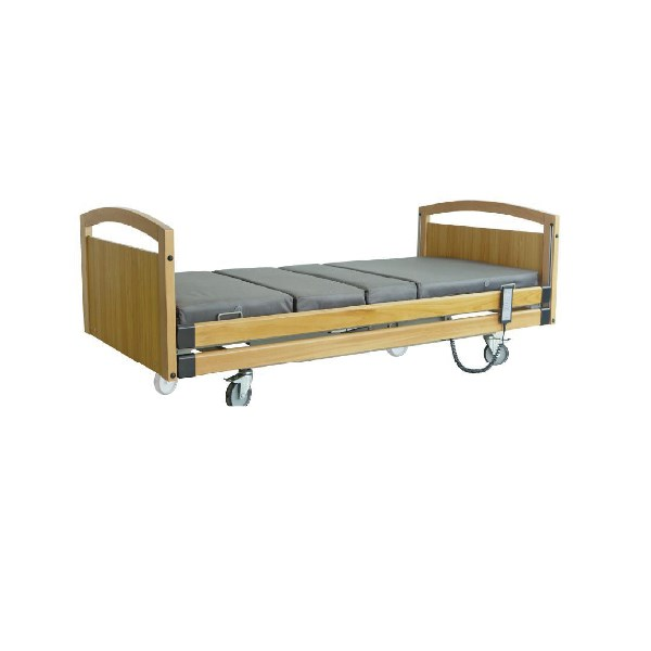 Electric Multi-function Nursing Bed Wooden Bed Frame