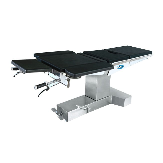 Gas Spring Manual Hydraulic Surgical Table with Split Leg Support