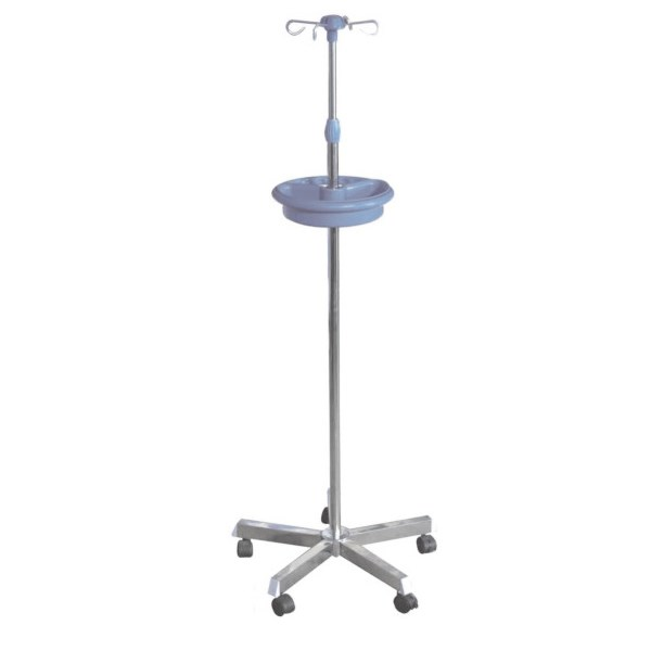 Mobile Height Adjustment Infusion Stand IV Pole